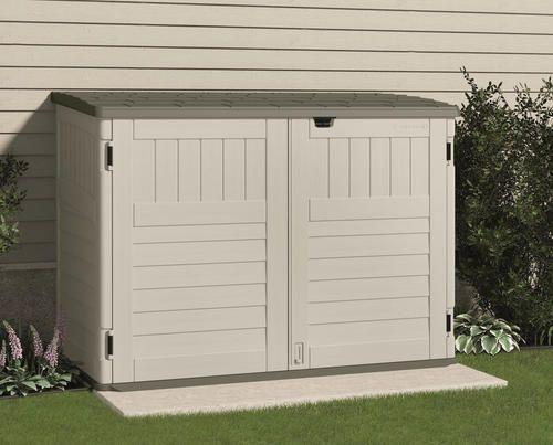 Suncast The Stow Away Horizontal Storage Unit At Menards