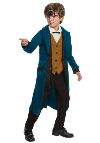 Newt Scamander Costume Fantastic Beasts /& Where to Find Them Halloween