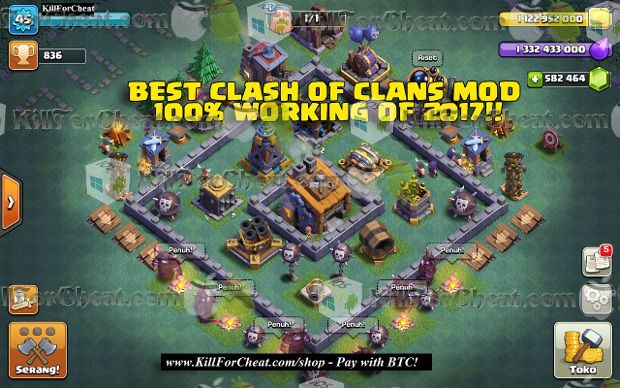 clash of clans hack version android apk