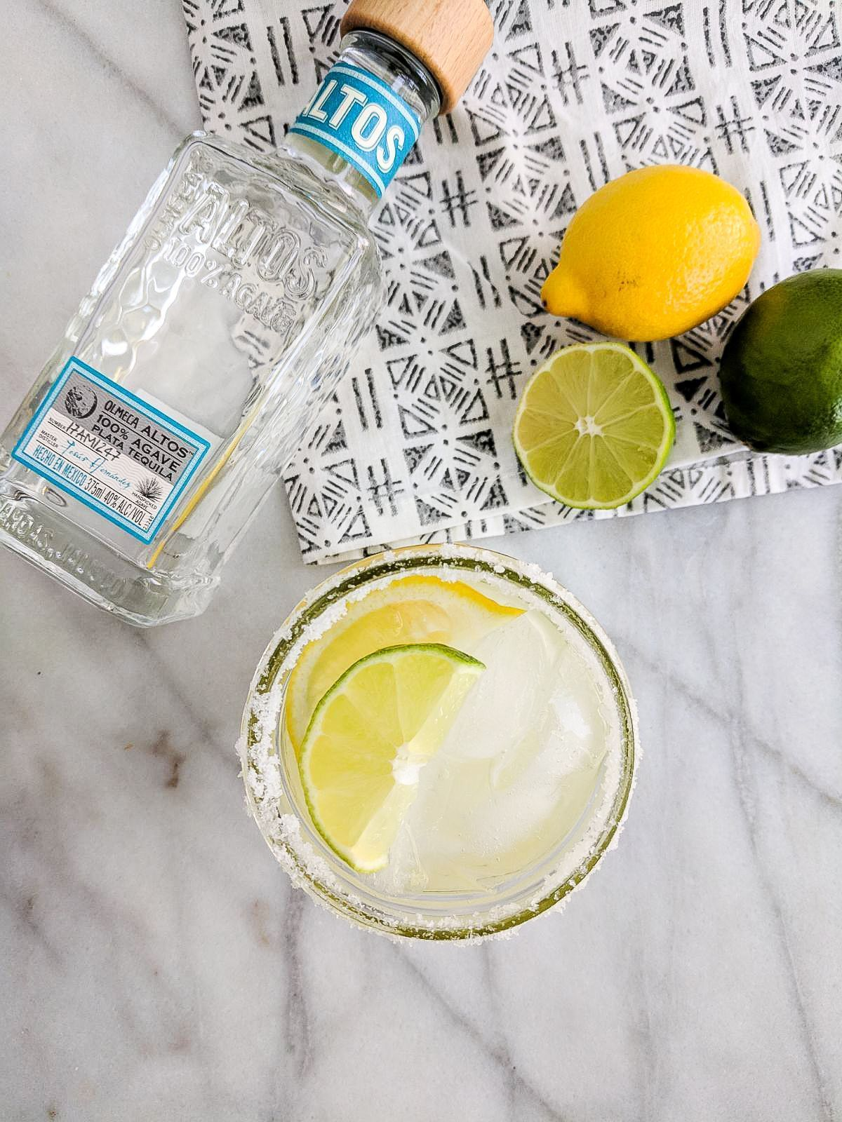 Simple Lemon Lime Margaritas Simple Lemon Lime Margaritas