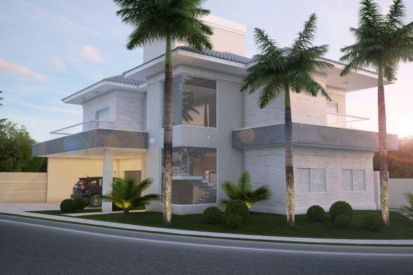 Residência JLC - Quinta Ranieri Green by Arq. Pâmela Corrêa, via Behance