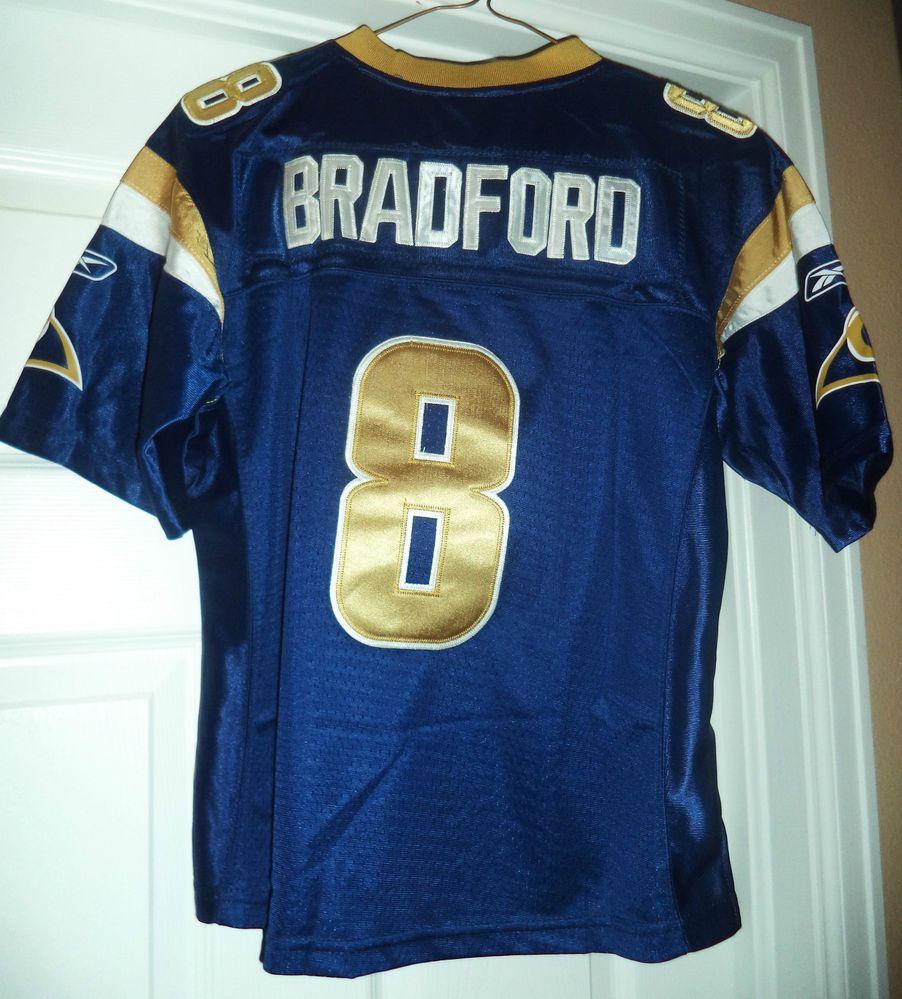0d4b454746f LOUIS RAMS #8 Sam Bradford NFL Jersey, Size S, GUC! #REEBOKONFIELD  #StLouisRams