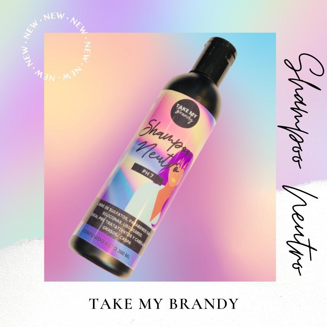 Shampoo Neutro Libre De Sales Y Sulfatos Champu Cuidado Del Cabello Hair Care