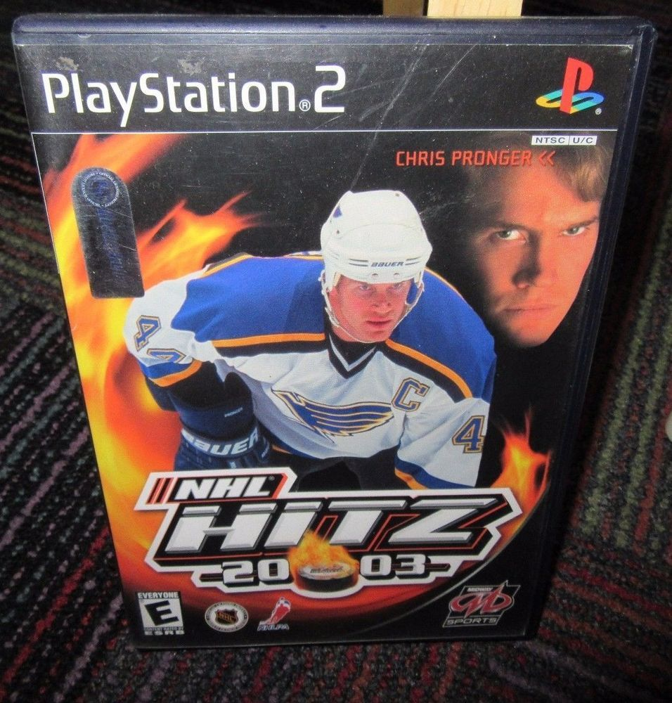 Nhl Hitz 20 03 Game Ps2 Playstation 2 Ea Sports Hockey Game