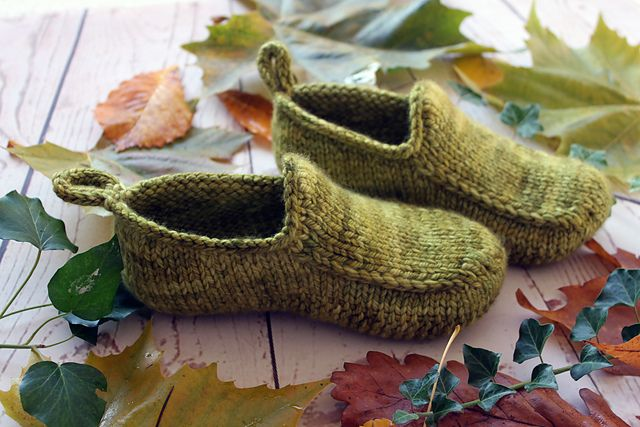 Photo of Woodland Loafers pattern by Claire Slade