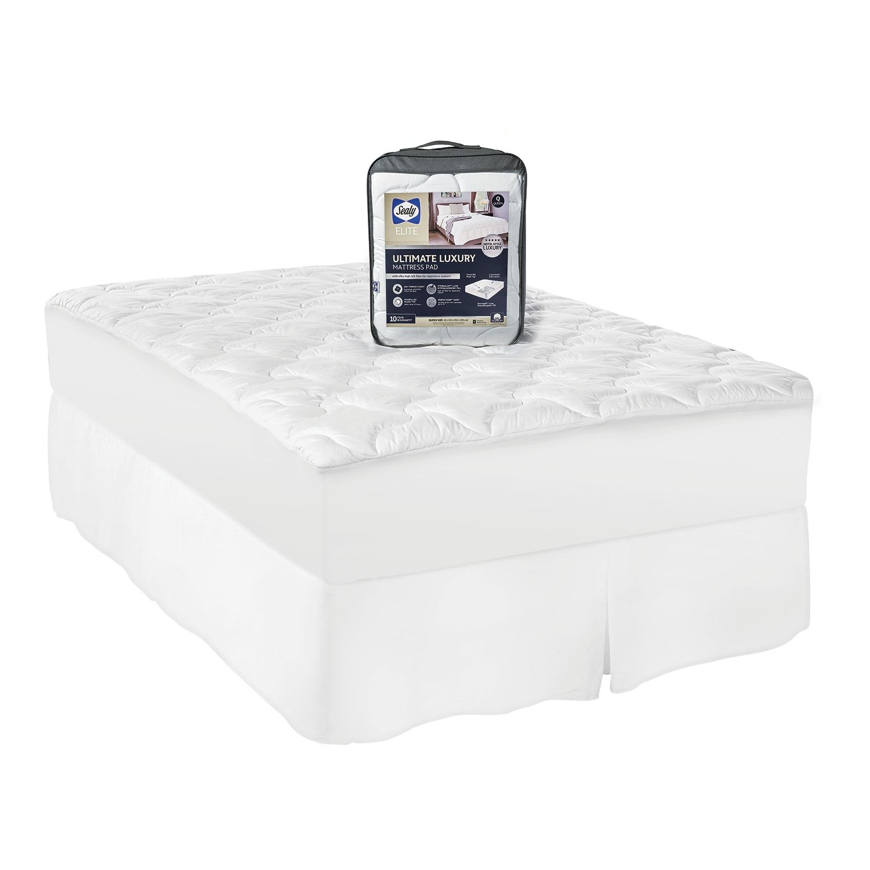 Sealy Elite Ultimate Luxury Cotton Mattress Pad Luxury
