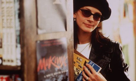 Julia Roberts in The Travel Bookshop in the film Notting Hill. Photograph: Clive Coote