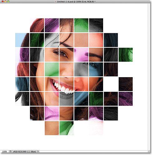 Эффект цветного витража из фото в Фотошоп 2.0 (с ...