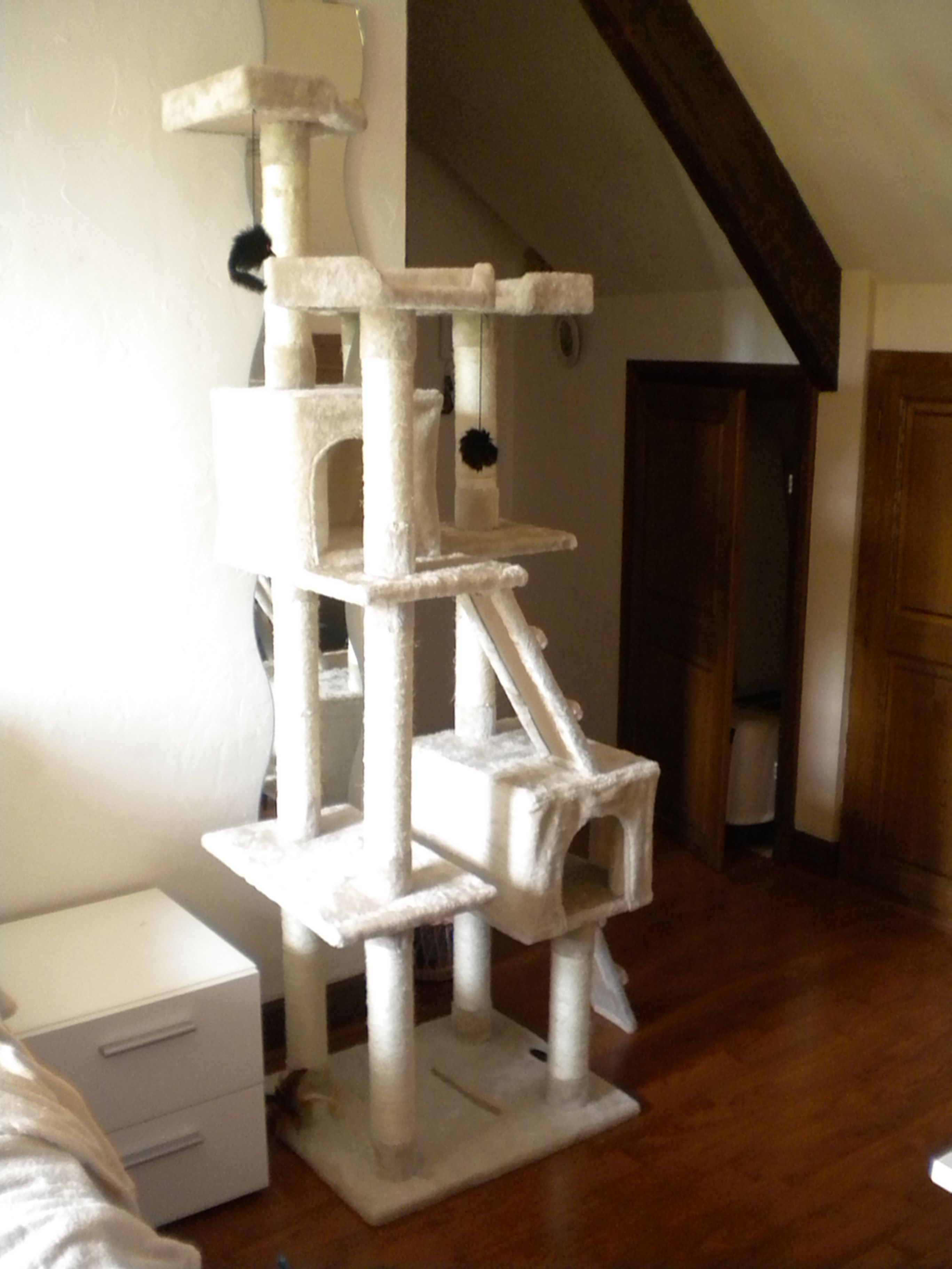 arbre a chat brico pinterest cat playground cats and diy. Black Bedroom Furniture Sets. Home Design Ideas