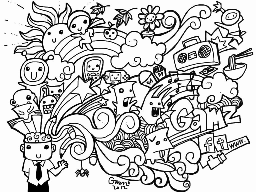 32 Doodle Coloring Books Doodle Art Drawing Doodle Pages