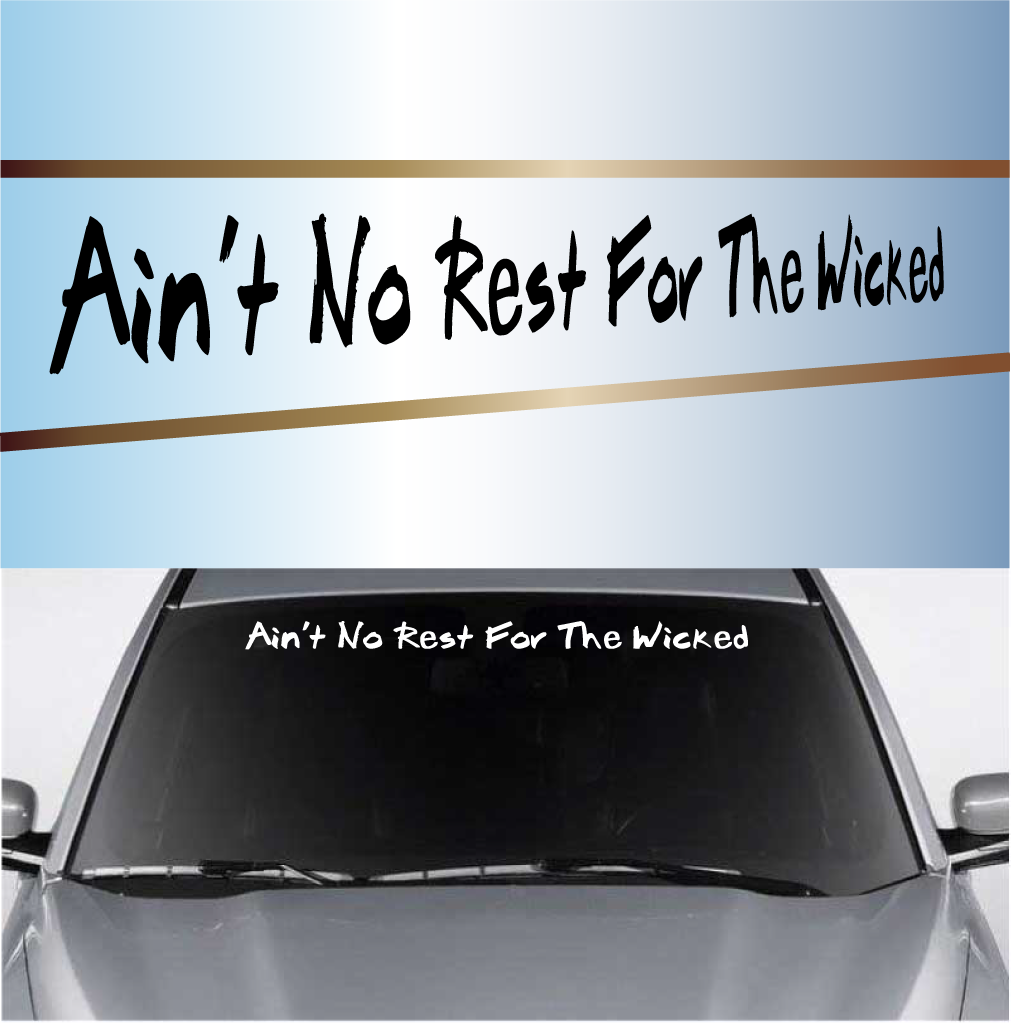 Create Your Own Custom Windshield Decal Banner Maker - Car windshield decals custom
