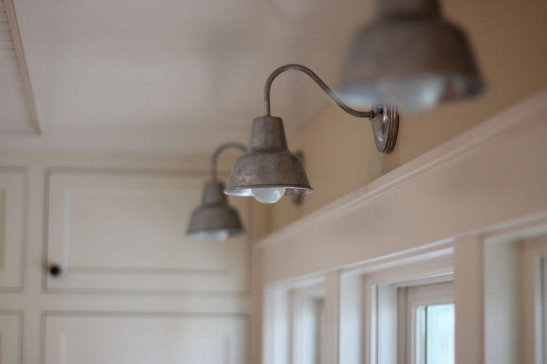 Fresh farmhouse style farmhouse pinterest barns - Barn style lighting for bathroom ...