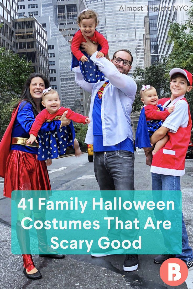 family halloween costume ideas that are scary good halloween