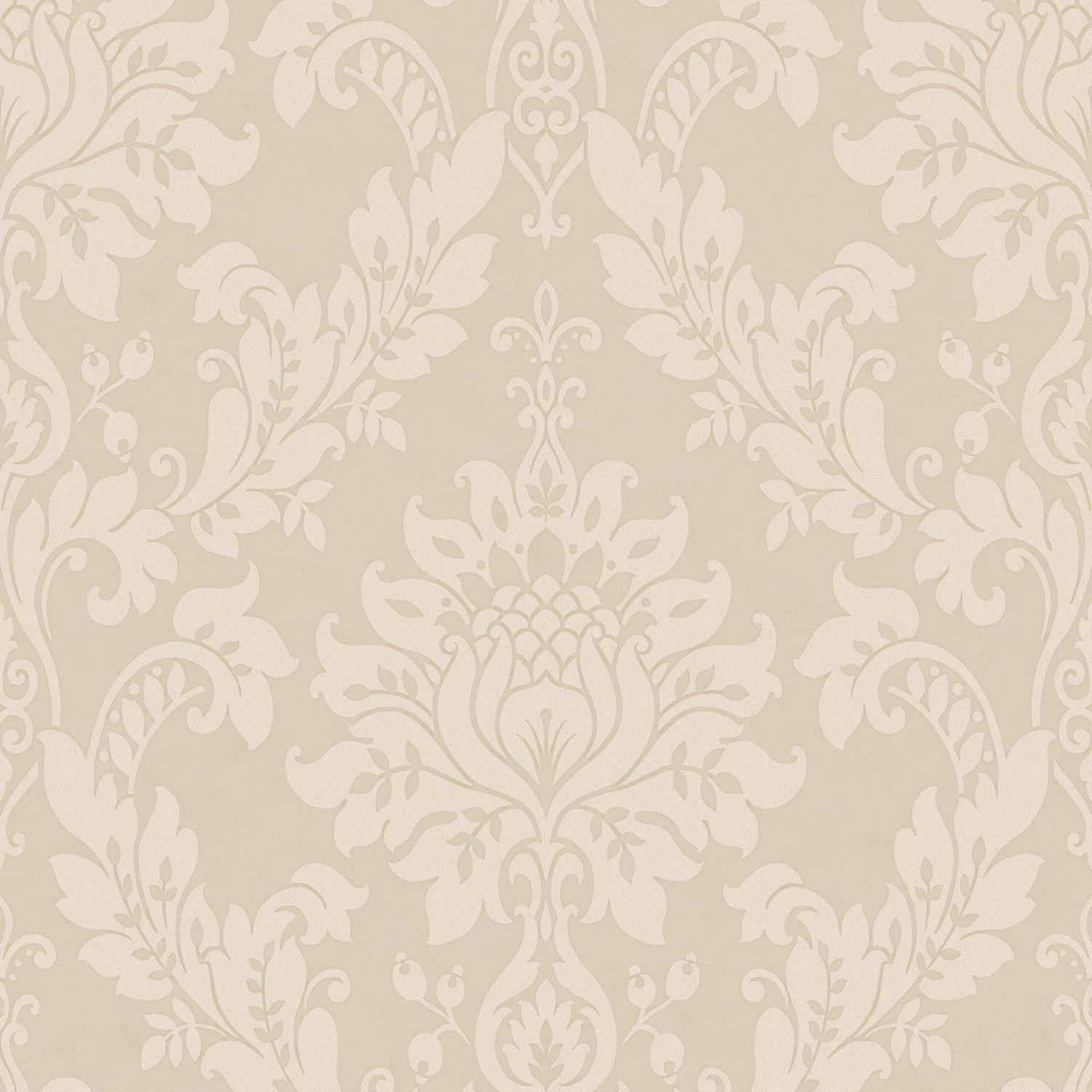 Clara Mink Wallpaper   Departments   DIY at B Q. Opus Clara Mink Damask Wallpaper   DIY and crafts  Wallpapers and Mink