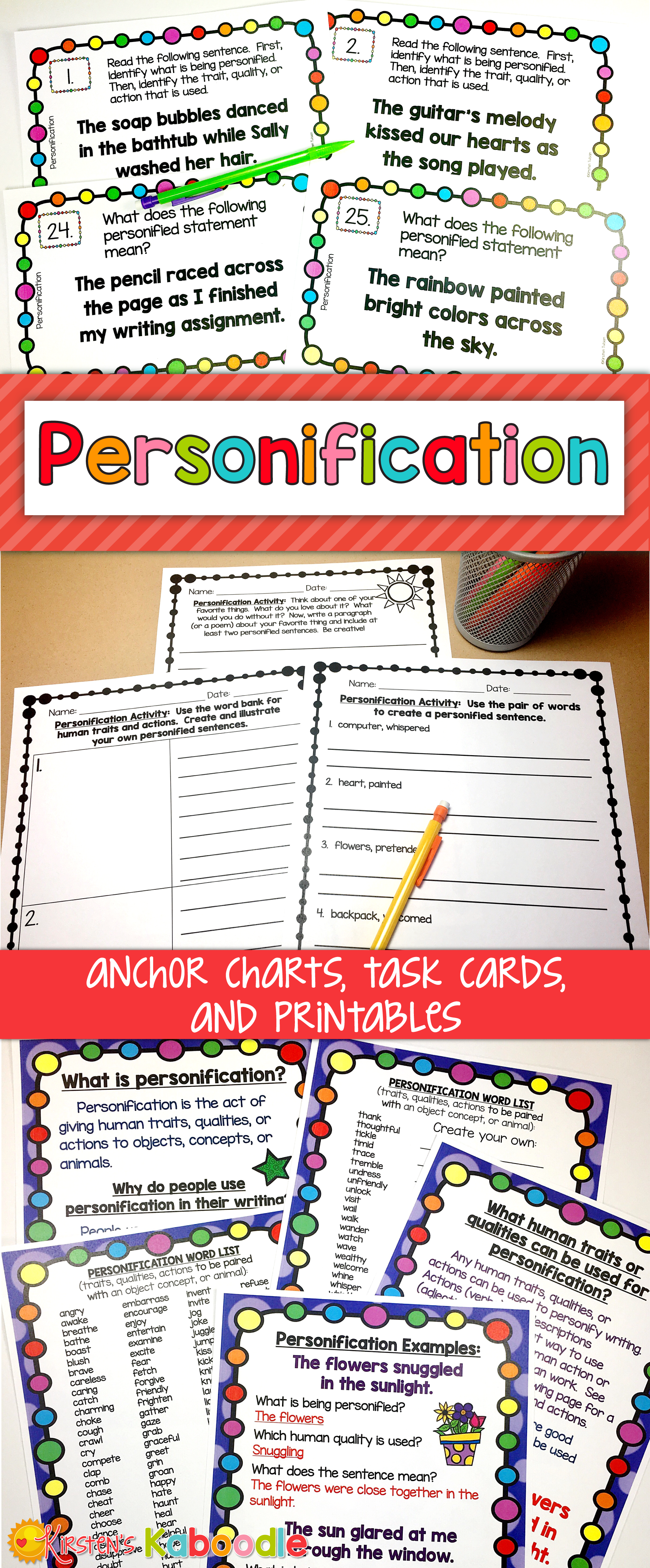 Personification Activities