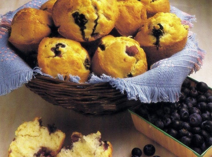 Blueberry Muffins Oven Version Recipe Blue Berry Muffins