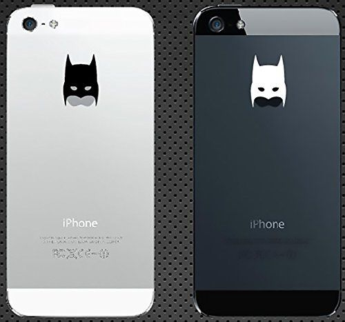 Iphone stickers vinyl decal for apple iphone 6 iphone 6 plus iphone 5s iphone 5c iphone 5 iphone 4s iphone 4 batman head mask cell phones