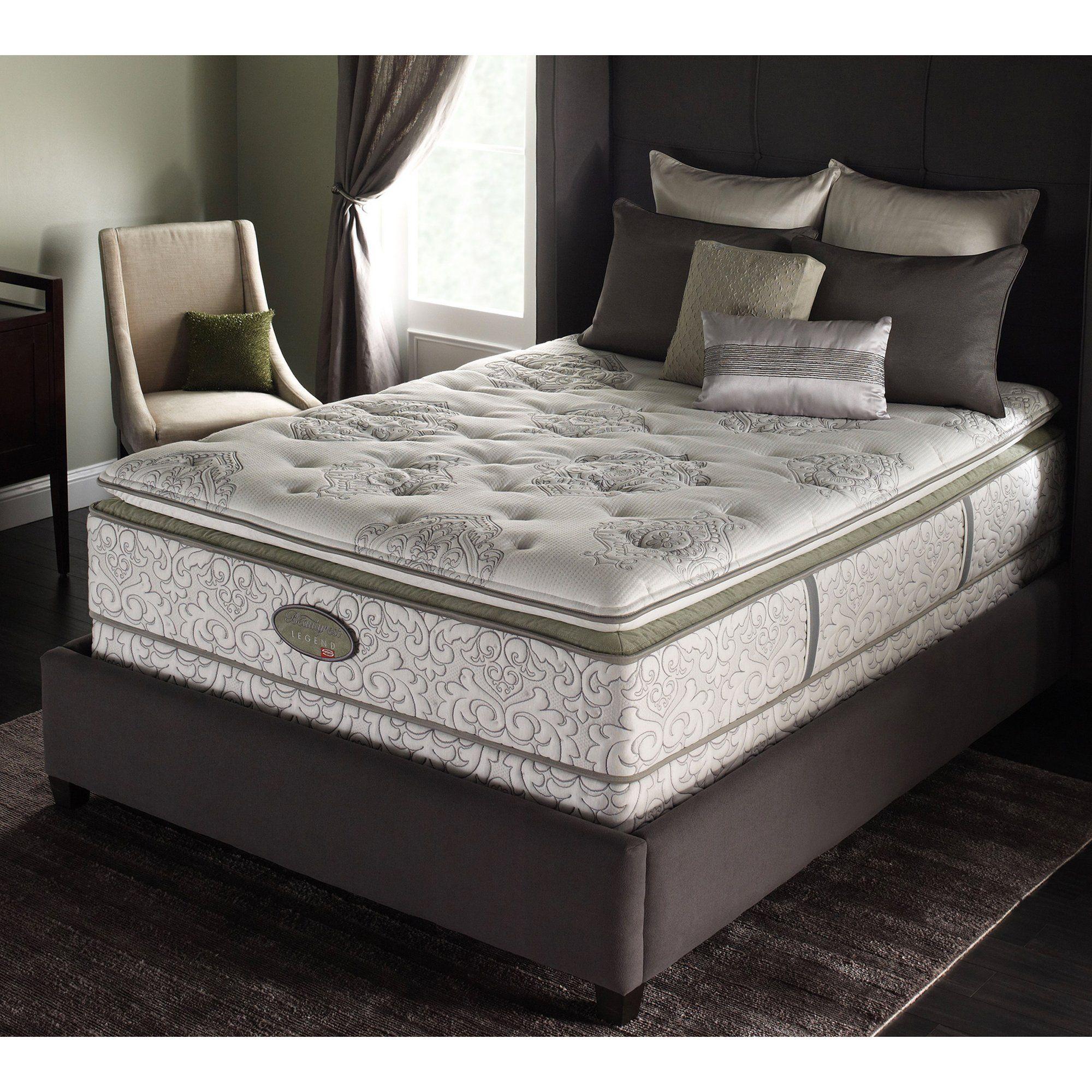 Simmons Beautyrest Legend Luxury Plush Super Pillow Top Mattress Si3198 Sleepy S