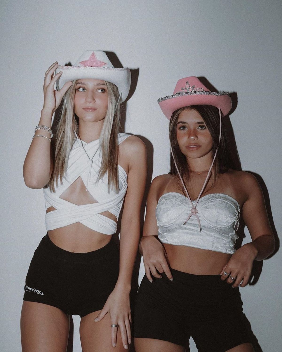 MADS LEWIS and NESSA BARRETT at a Photoshoot, June