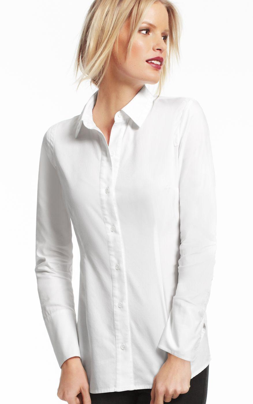 #1 Look: Tailored Shirt - Shirts & Blouses