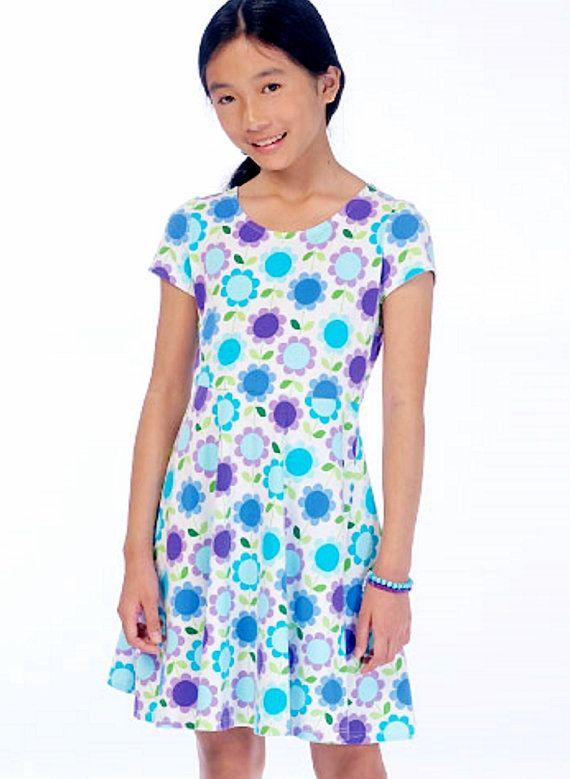 f4c5ab85f Girls  Pullover Dress Pattern Girls  Easy Dress Pattern by blue510 ...