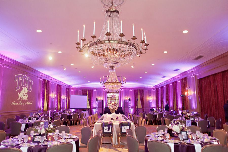 Tcu Themed Reception At The Fort Worth Club