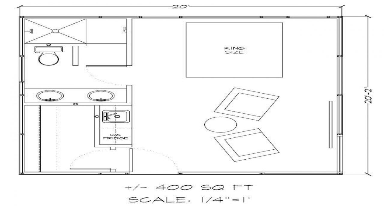 500 Square Feet 400 Square Feet Tiny House Floor Plans