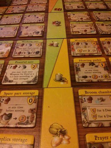 Caverna building tiles #boardgame #boardgames #games #spiel #boardgamegeek #bgg #tabletop #caverna
