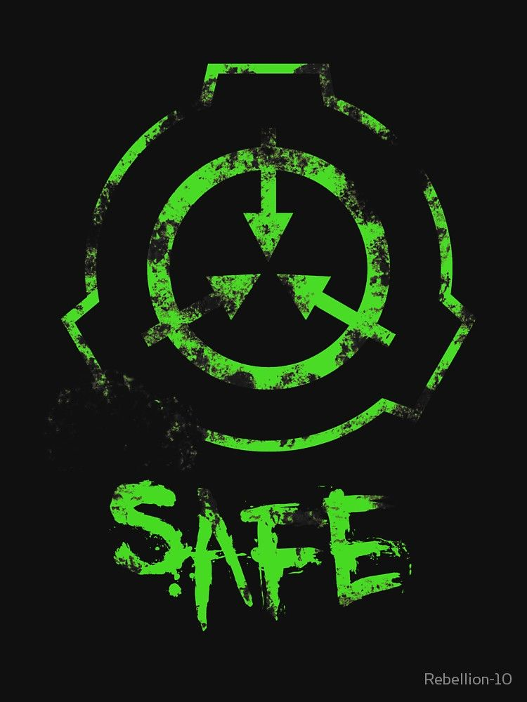 Scp Foundation Safe Slim Fit T Shirt Scp Scp 049