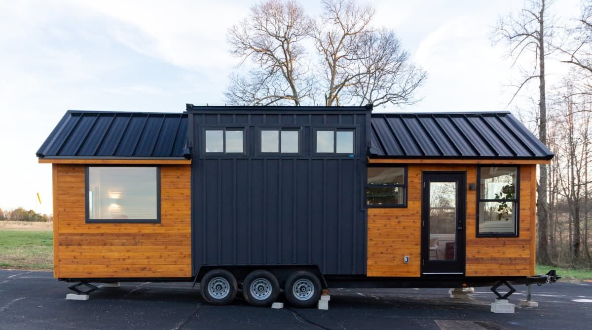 The Lena By 32 X8 5 Tiny House For Sale In Greer South