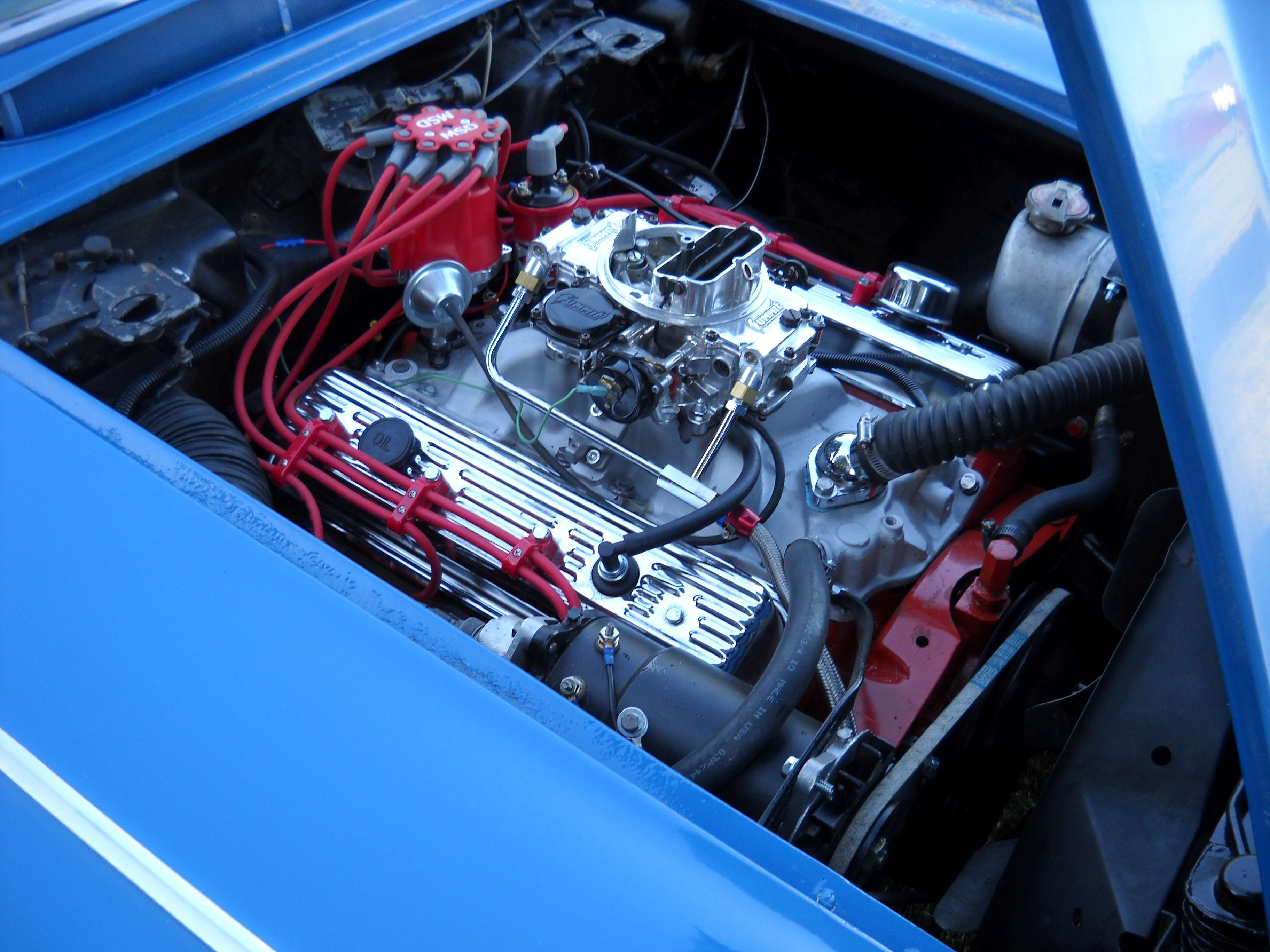 355ci crate engine small block gm style longblock iron heads blueprint engines customer dennis jankowski has installed our bp35511ct1 in this sweet 1961 chevy corvette malvernweather Image collections