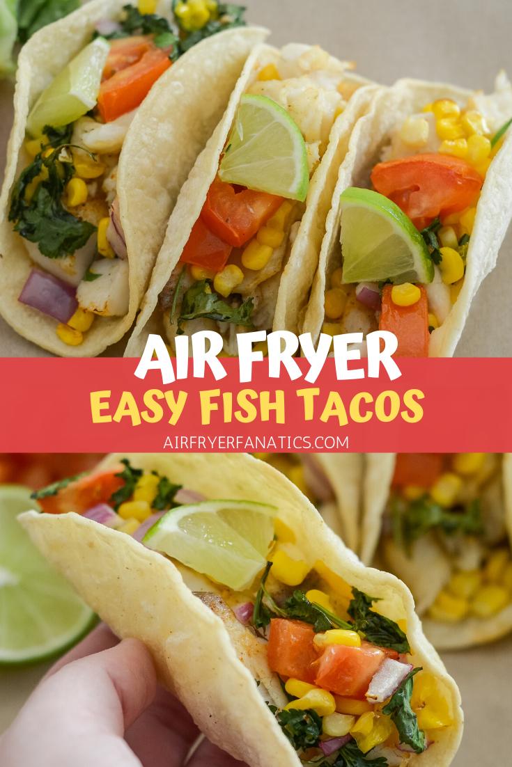 Air Fryer Fish Tacos (GlutenFree) Recipe in 2020 Air