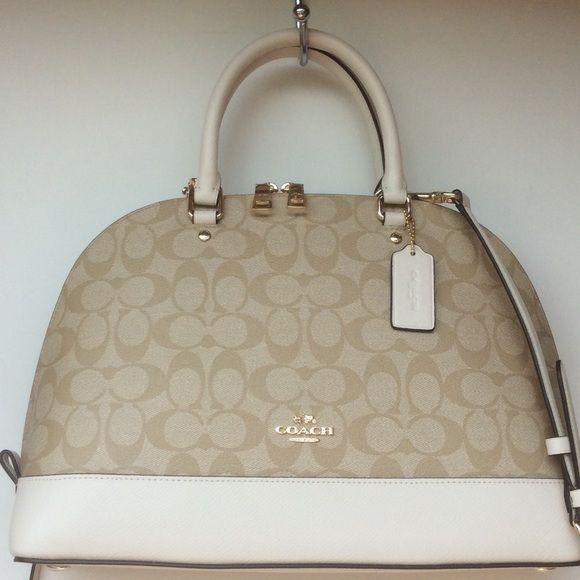 ❗️SOLD❗️NWT 🔶 COACH Signature Sierra Satchel NWT   Coach bags ...