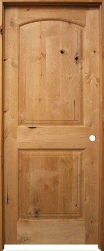 6/8 Prehung Knotty Alder Interior Doors Unfinished knotty alder door prehung in matching alder jambs. 2 panel arch. & 6/8 Prehung Knotty Alder Interior Doors: Unfinished knotty alder ...