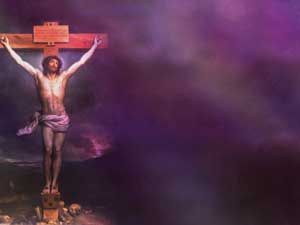 Crucifixion Of Jesus Christ Christian Powerpoint Templates For