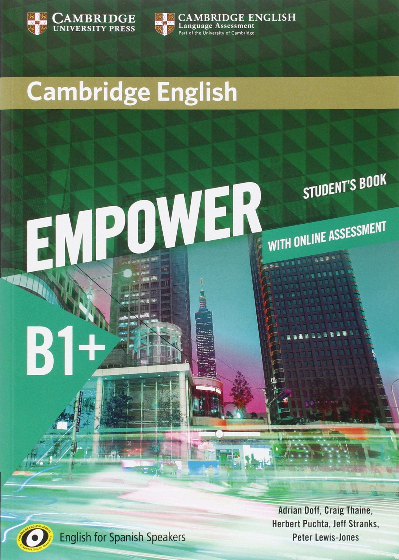 Cambridge English Empower For Spanish Speakers B1 Student