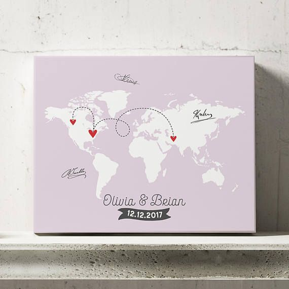 World map guestbook travel wedding map map guest book wedding world map guestbook travel wedding map map guest book gumiabroncs Images