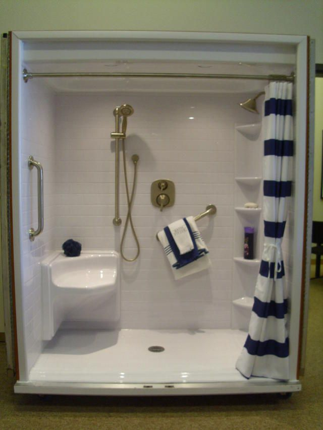 Good Bath Fitters Showers Part - 10: A Bath Fitter Shower Glass Door Can Give Your Bathroom Such A Clean Look. | Bath  Fitter Designs | Pinterest | Glass Doors, Bath And Doors