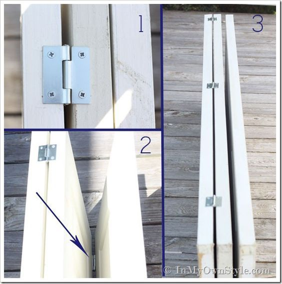fabriquer un paravent exterieur Fabriquer un paravent en bois soi-même | BricoBistro Plus