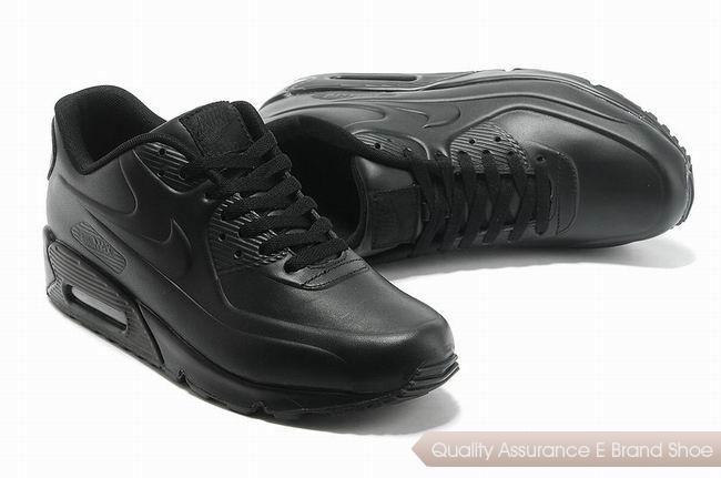 nike air max 90 mens all black sneakers p 2409