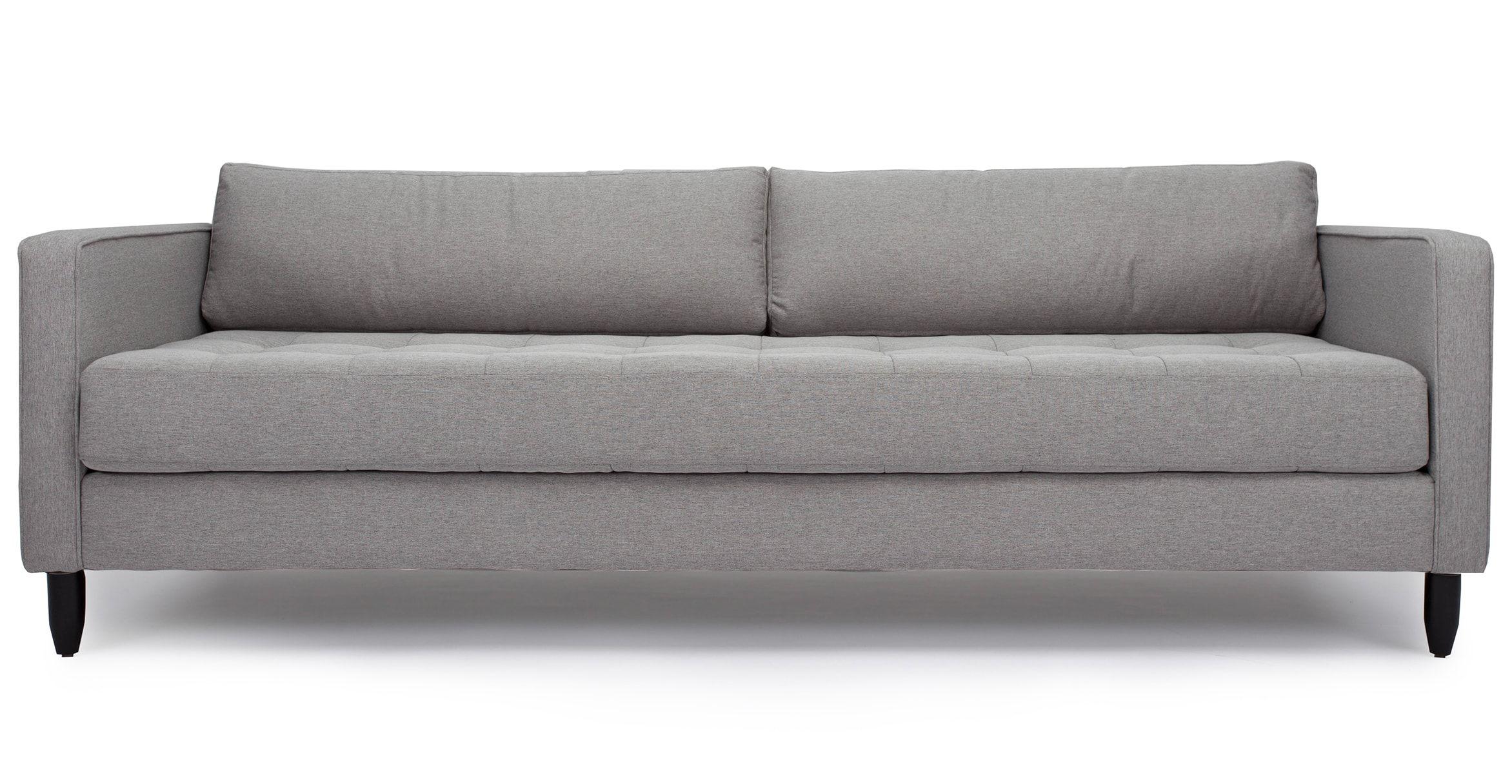 Mid Century Modern Sofas Louie in Fabric IFN Modern