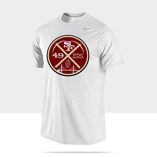Nike-Pro-Combat-Core-Compression-Mens-Shirt-49ers #49ers #niners
