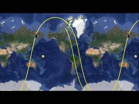 Bildergebnis für 2 korean satellites with EMP above the usa