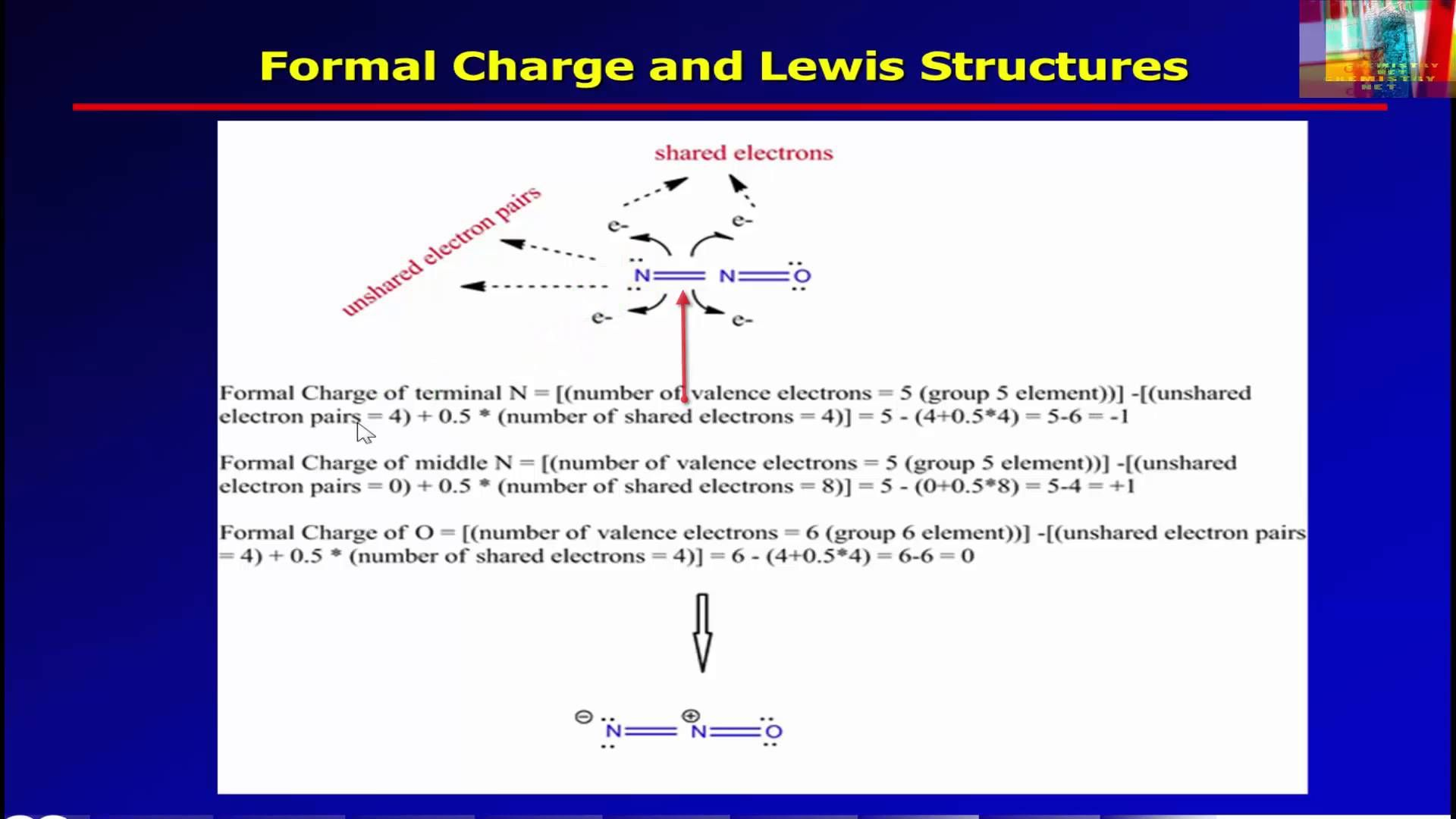Formal Charge And Lewis Structures Lewis Chemistry Small Home Office