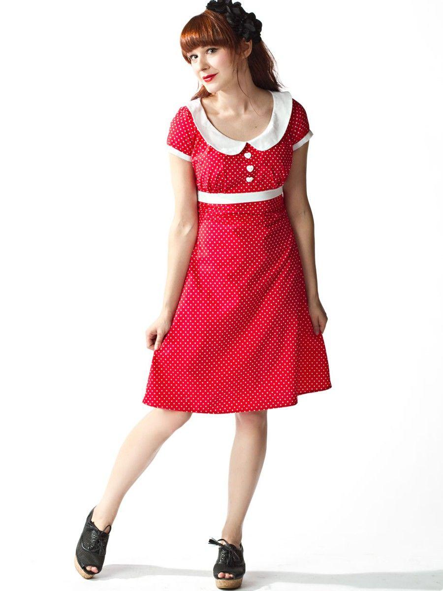 HEARTBREAKER Dolly - Retro Kleid   Flaming Star Shop   Style ...