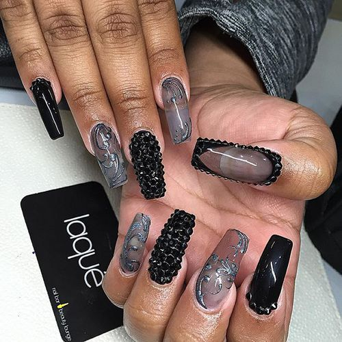 Nail Jewels Nails And Nail Design Image Pretty Nails Pinterest