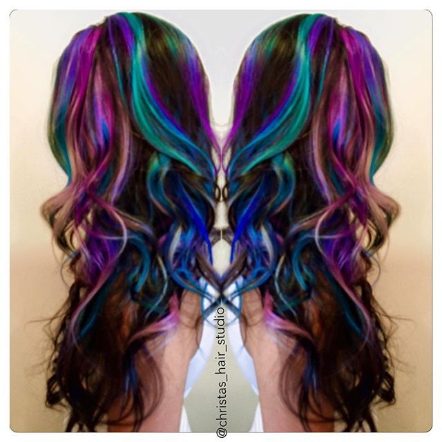 light purple ombre hair