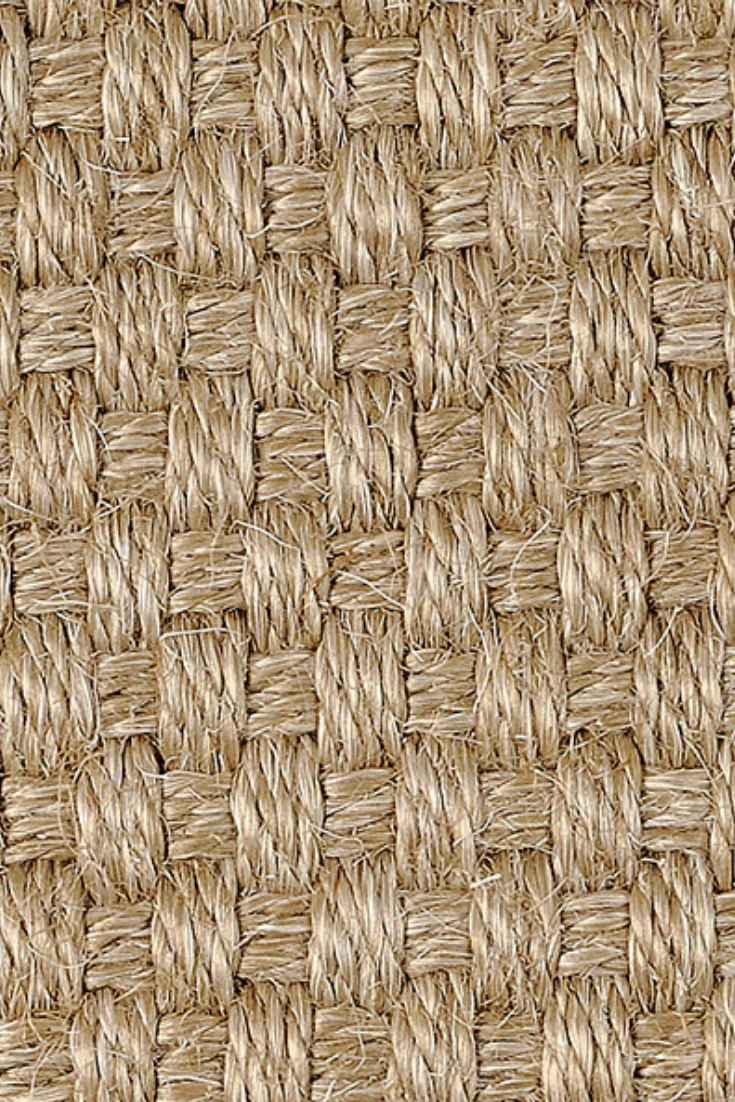 Sisal Basket Kishie Carpet With