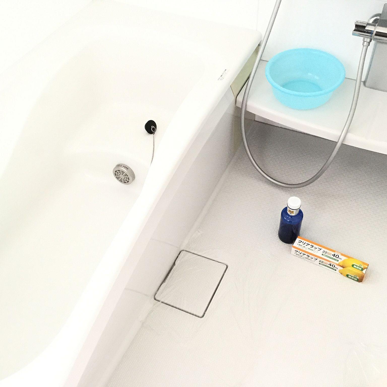頑固な汚れもあきらめない 部分別 お風呂の汚れ撃退法 お風呂 床掃除 風呂掃除