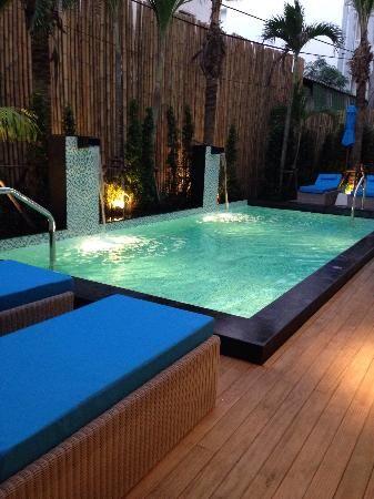 Patios. Small Pools ...